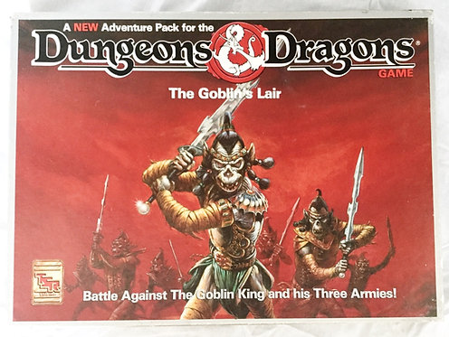 The Goblins Lair Dungeons And Dragons TSR