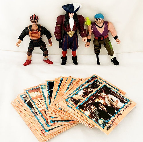 HOOK Peter Pan Figure And Card Set 1991