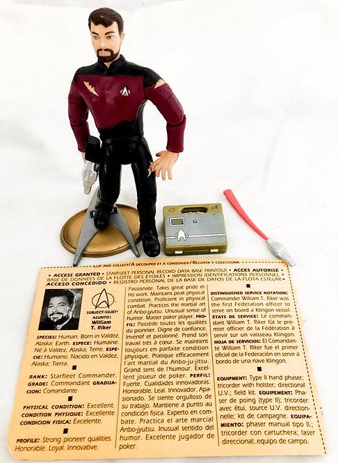 Star Trek The Next Generation Riker Playmates 1992