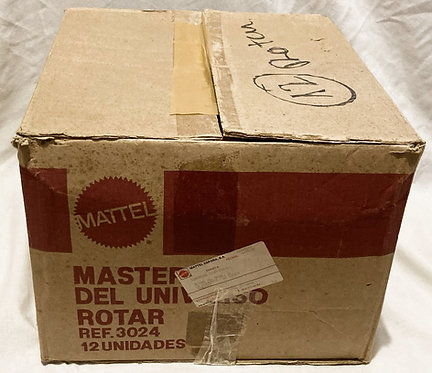 He-Man And The Masters Of The Universe Rotar Euro Card Shipping Box Mattel 1986