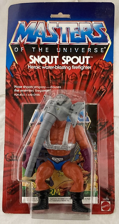 He-Man Masters Of The Universe Snout Spout Mattel 1987