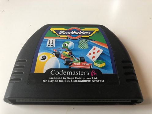 Micro Machines (Mega Drive Pal) Cartridge Only