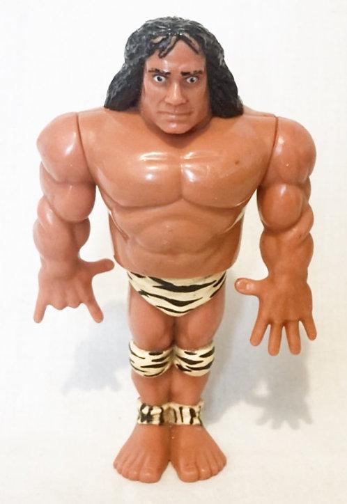 Vintage WWF Superfly Jim Snuka Hasbro 1991