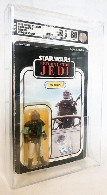 Vintage Star Wars Return Of The Jedi Weequay Japan 1983