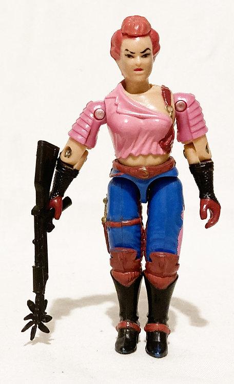 G.I. Joe Zarana Hasbro 1986