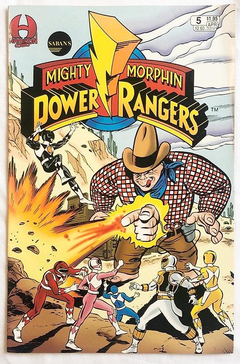 Mighty Morphin Power Rangers #5 Hamilton 1991