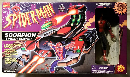 Spider-Man Scorpion Spider Slayer Toy Biz 1996