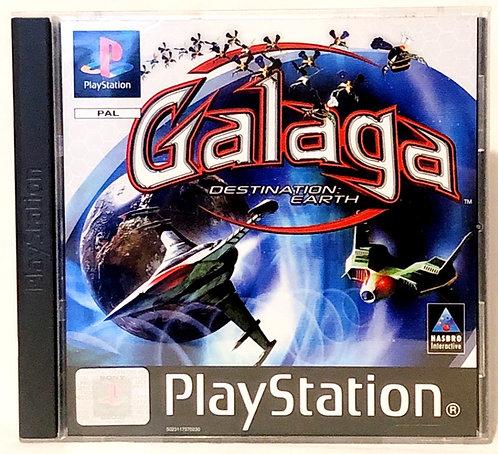Galaga: Destination Earth PlayStation Game U.K. (PAL)
