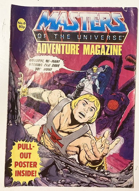 He-Man And The Masters Of The Universe Adventure Magazine U.K. #6 1988