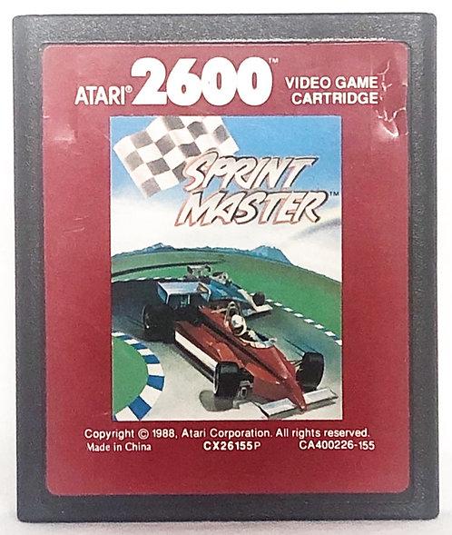 Sprint Master Atari 2600