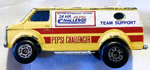 Vintage Matchbox Superfast Chevy Pepsi Van 1979