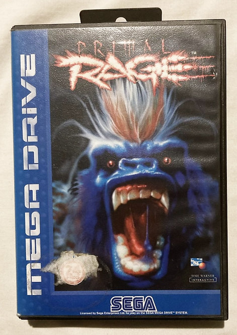 Sega Megadrive Primal Rage (Pal) UK 1993
