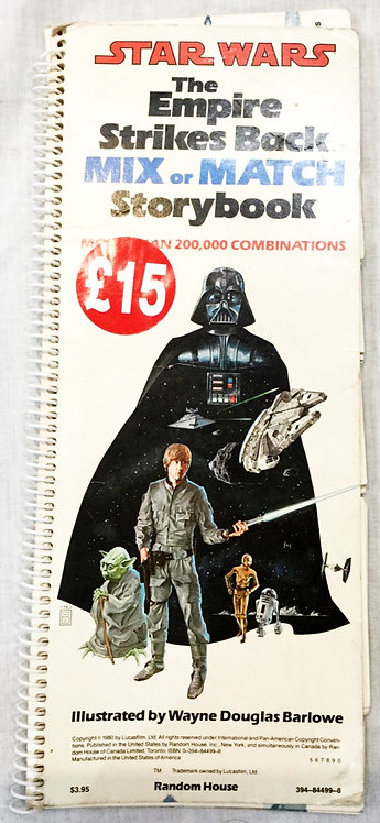 Vintage Star Wars The Empire Strikes Back Mix And Match Storybook