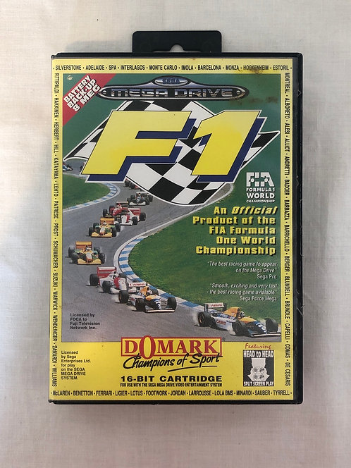 F1 Megadrive U.K. (PAL)