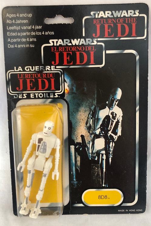 Vintage Star Wars Return Of `the Jedi Tri-Logo 8d8 1983