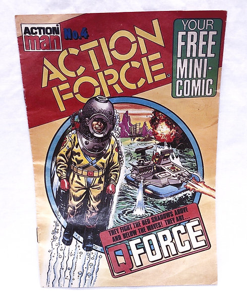Action Man Action Force Mini Comic No. 4