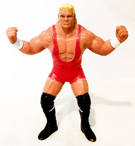 WCW Sid Vicious Figure Pink U.K. Release Galoob 1991