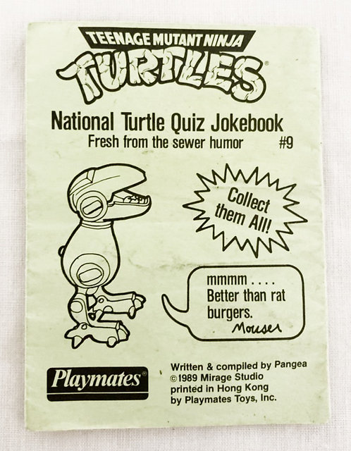 Teenage Mutant Ninja Turtles National Turtle Quiz Jokebool #9