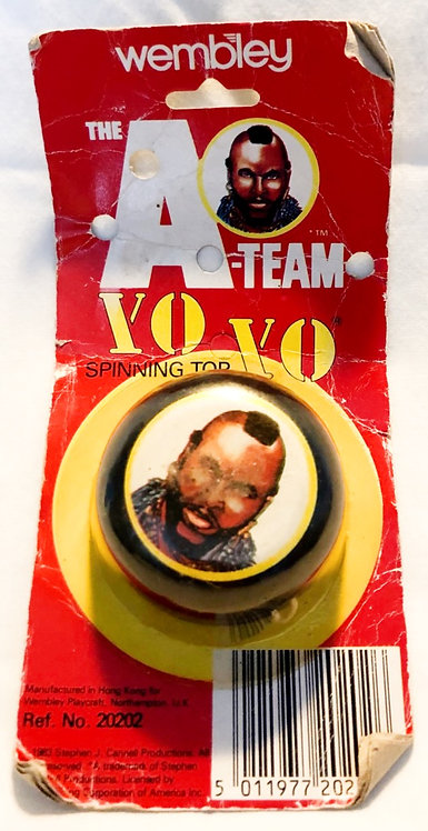The A-Team Yo Yo Spinning Top Mr T. Wembley 1983