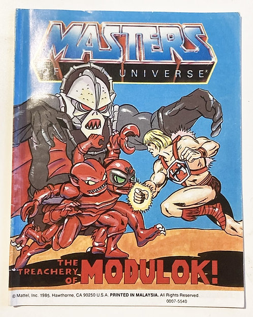 He-Man And The Masters Of The Universe The Treachery Of Modulok