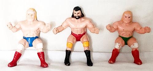 Vintage Thumb Wrestlers Set
