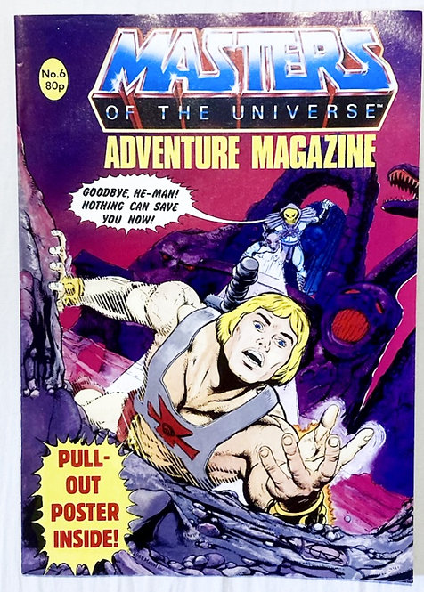 He-Man And The Masters Of The Universe Adventure Magazine No. 6  1987