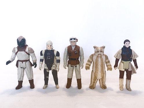 Vintage Star Wars Action Figure Set