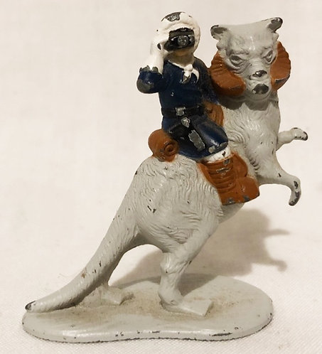 Vintage Star Wars The Empire Strikes Back Han Solo And Taun Taun Die-Cat