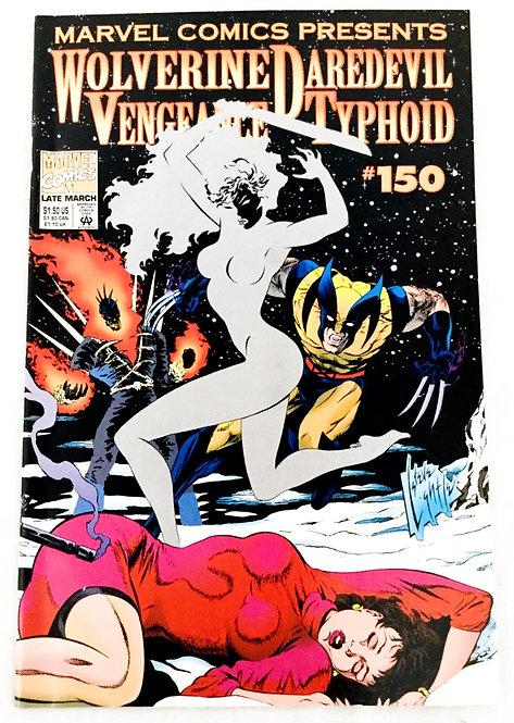 Marvel Presents Wolverine Daredevil Vengeance Typoo No. 150 March 1994