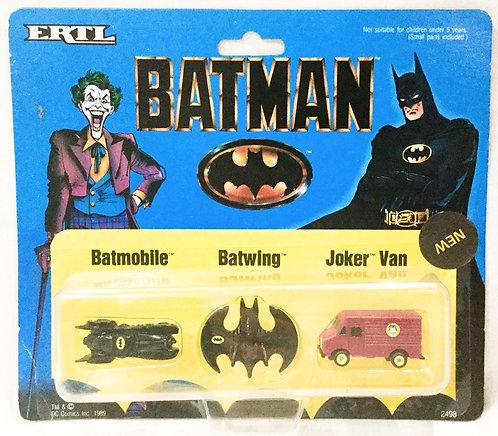 Batman Mini Vehicle Set ETRL 1989
