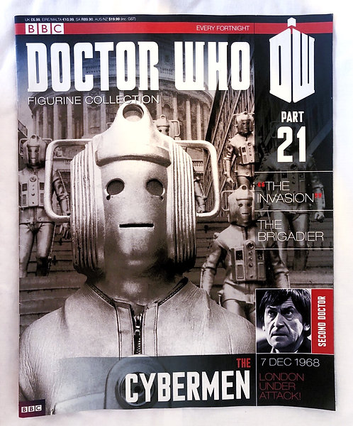 Doctor Who Figurine Collection 21 The Cyberman