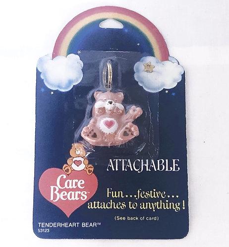 Vintage Care Bears Keyring Tender Heart Bear