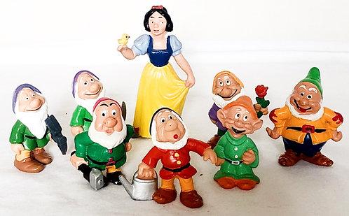 Disney Vintage Snow White And Dwarfs Set