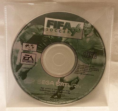 Sega Saturn FIFA Soccer 96 Disc Only PAL