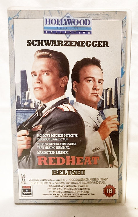 Red Heat VHS