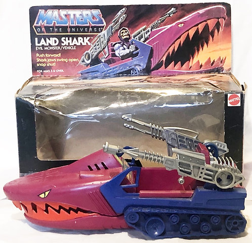 He-Man  And The Masters Of The Universe Land Shark Mattel 1984
