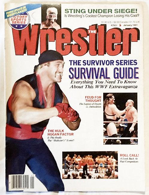 The Wrestler Jan 1991