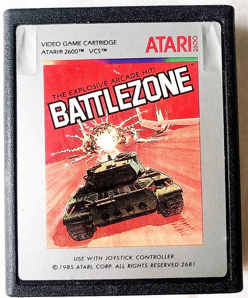 Battlezone Atari 2600 U.K. (PAL)