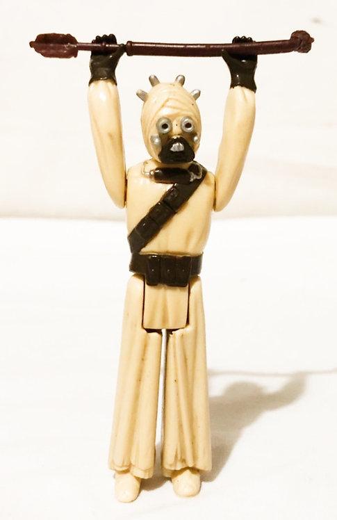 Vintage Star Wars Tusken Raider Sand Person  Kenner (Damaged Weapon) 1977