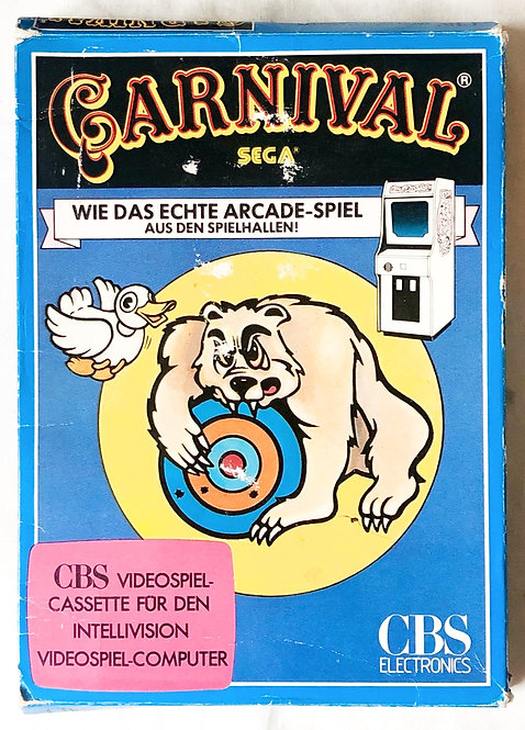 Carnival Intellivision Intelligent Television Germany (PAL)