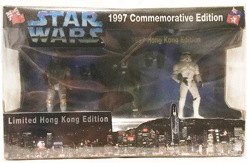 Star Wars 1997 Commerative Limited Hong Kong Edition Darth Vader Boba Fett Storm