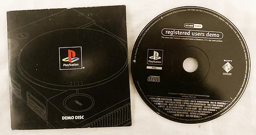 Sony Playstation 1 Registered Users Demo Disc