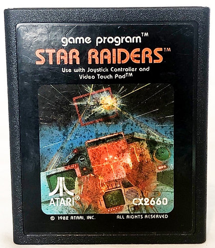 Star Raiders Atari 2600