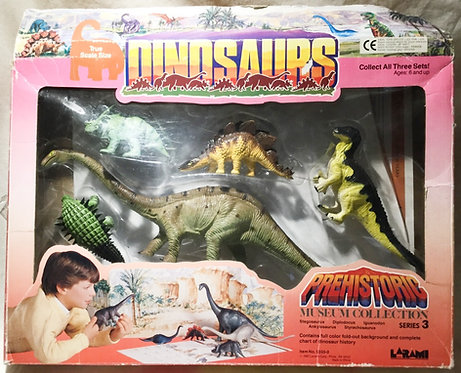 Dinosaurs Prehistoric Museum Collection Series 2 1997