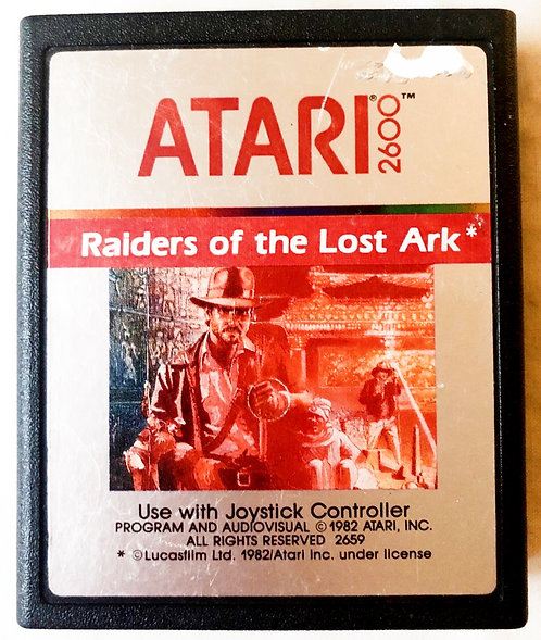 Raiders of the Lost Ark Atari 2600 U.K. (PAL)