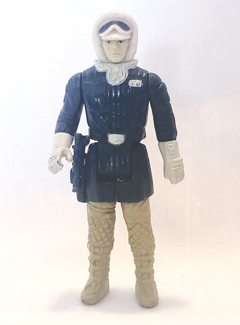 Vintage Star Wars Han Solo Hoth Pale Face