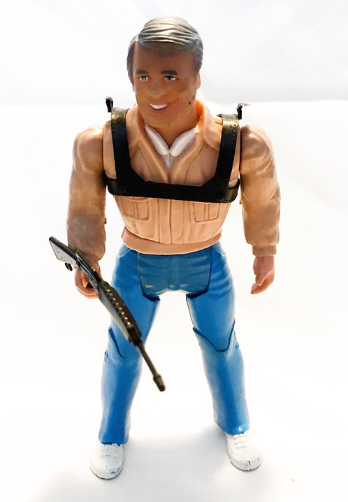 "The A-Team Hannibal Figure 6"" Galoob 1984"