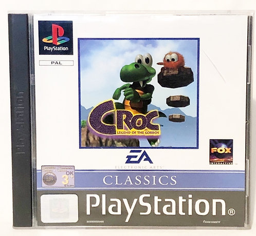 Croc Legend Of The Gobbos PlayStation Game U.K. (PAL)