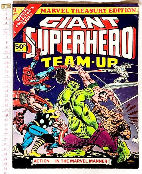 Giant Superhero Team-Up No.9 Marvel Treasury Edition 1976