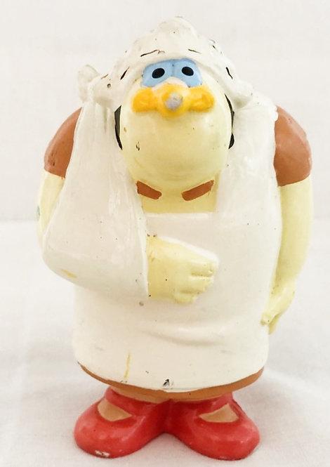 Count Duckula Nanny PVC Figure Cosgrove 1988